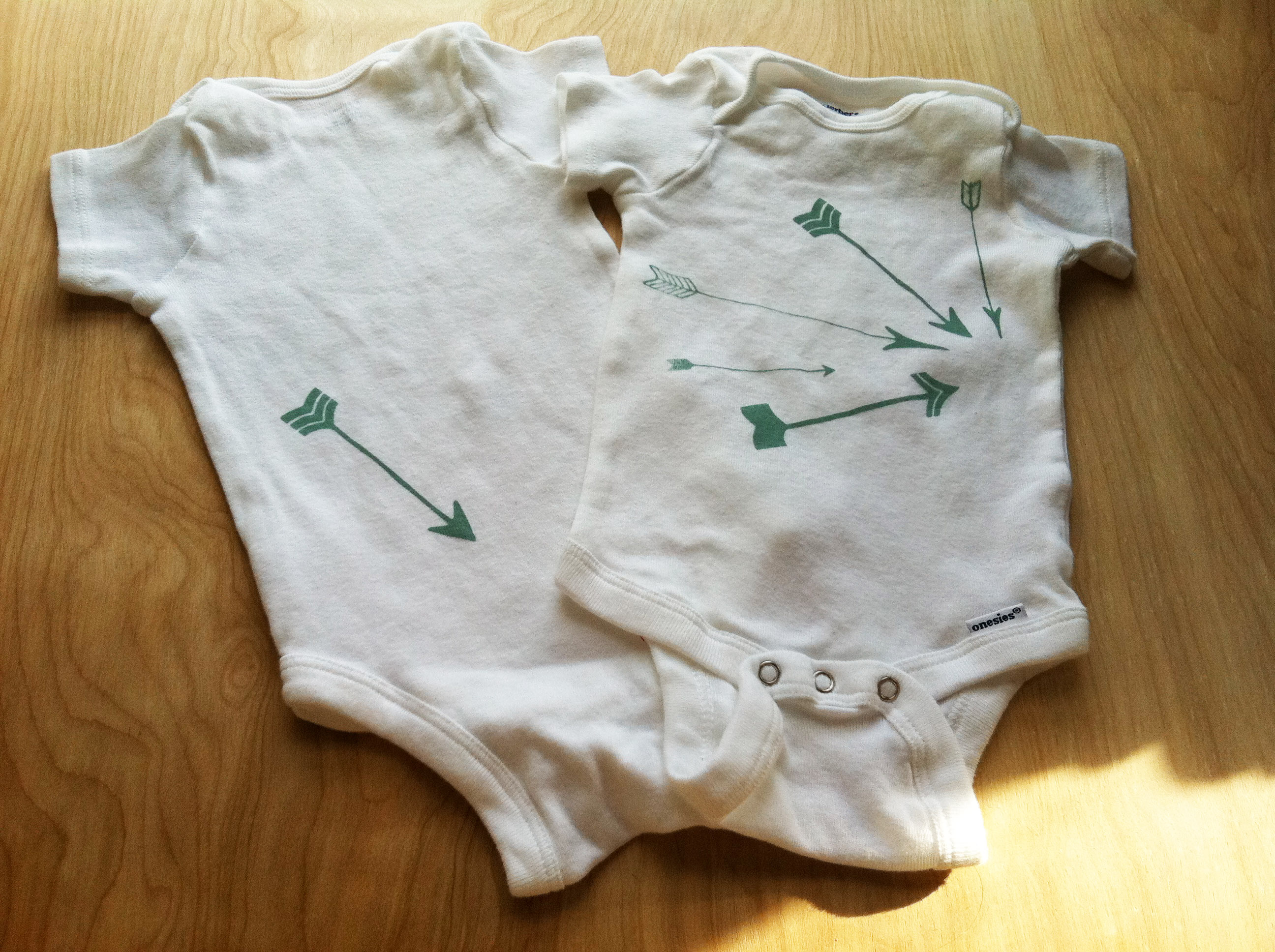 Onesie with Arrows