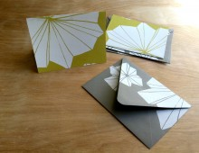 Hand-Printed Notecards with Envelopes