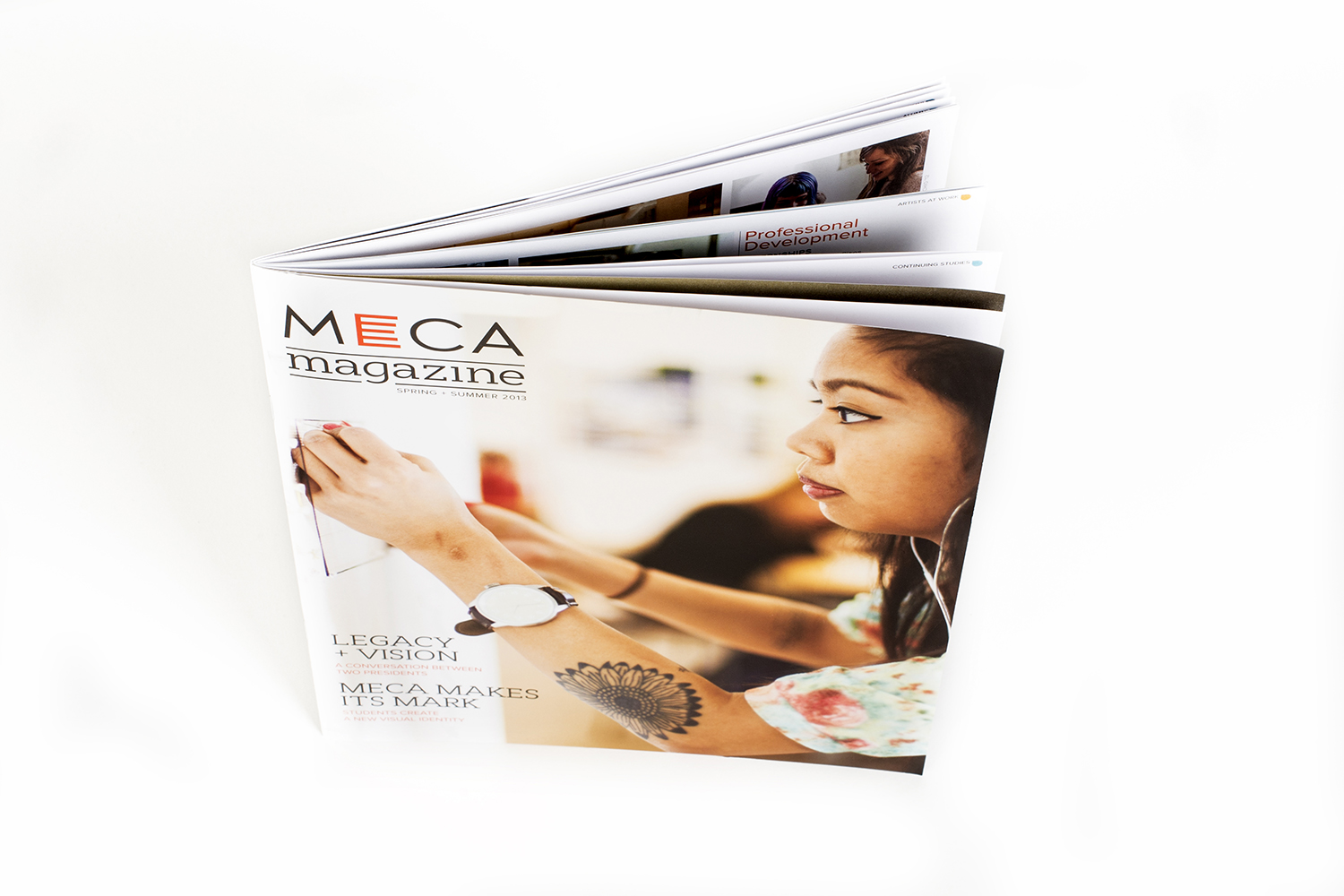 MECA Magazine, Issue 1, Spring 2013