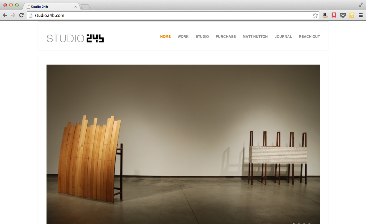 Studio 24b Website