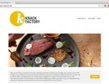 Knack Factory Website