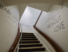 Bob Crewe Gallery Stairway at MECA